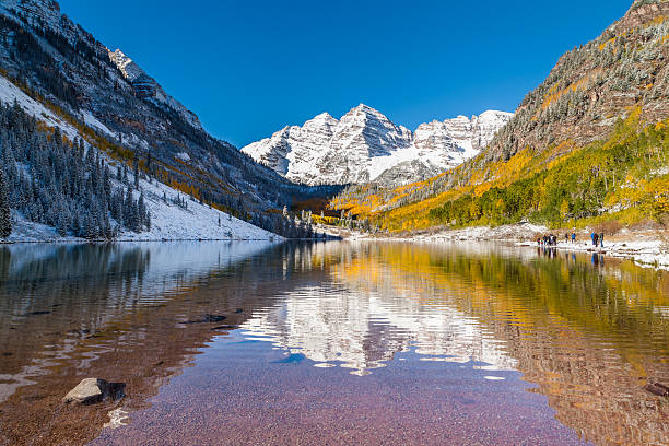 Maroon Bells National Park Aspen Co Stock Photo Download