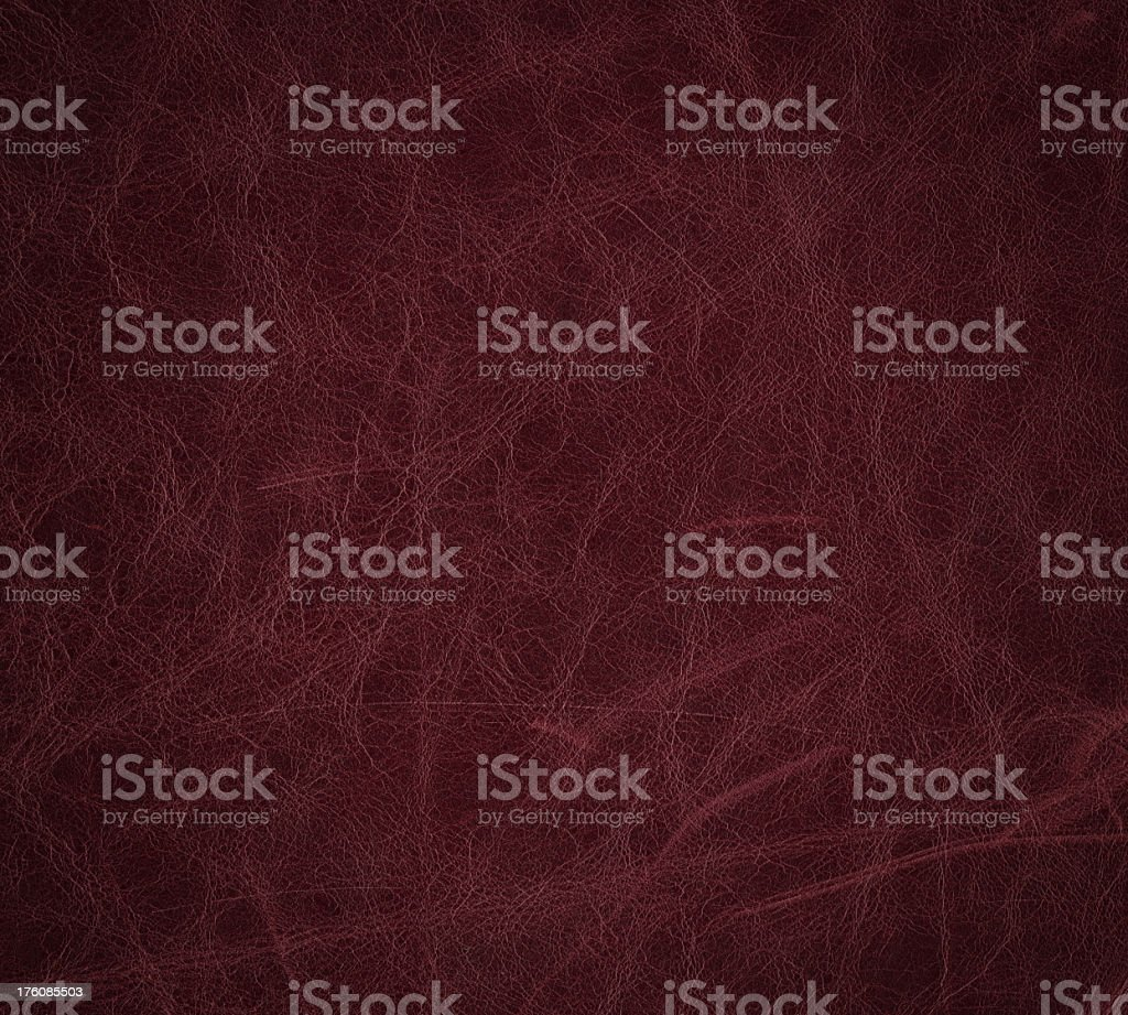 maroon dyed leather texture stock photo
