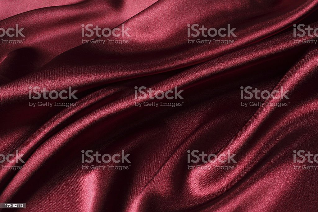 Maroon Silk Texture stock photo