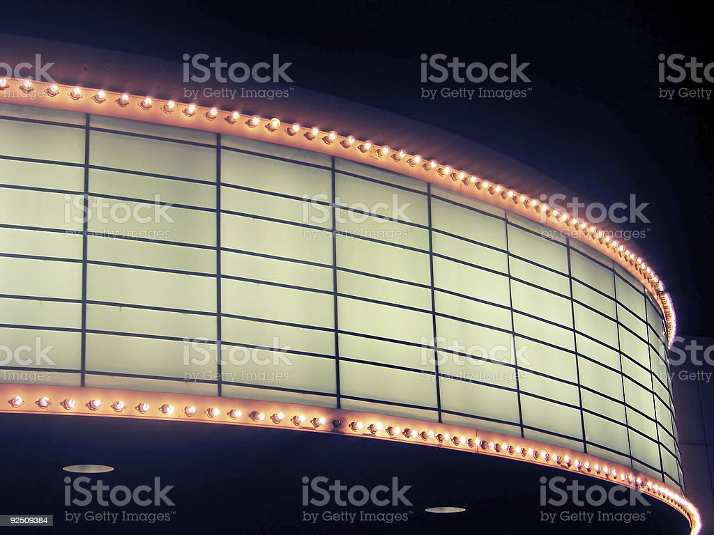 marquee 2 royalty-free stock photo