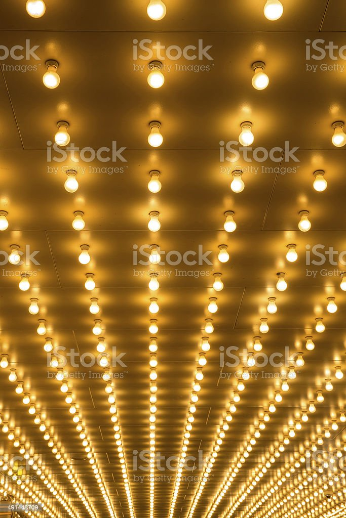 marquee lights royalty-free stock photo