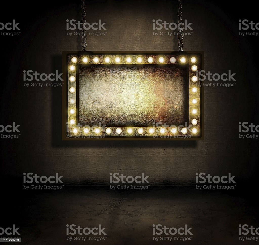 Marquee royalty-free stock photo