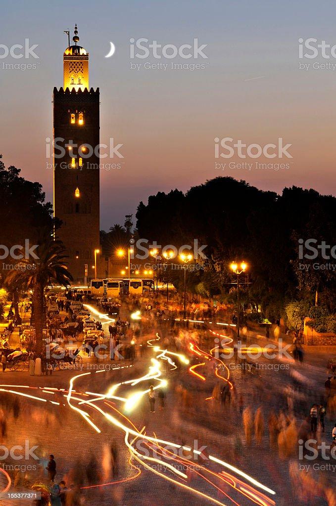 Marrakech stock photo