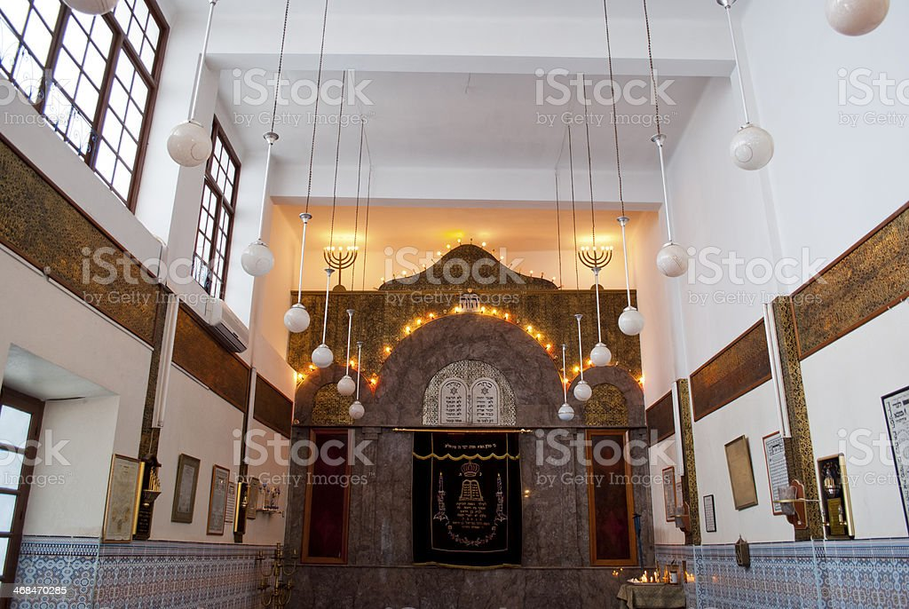 Marrakech synagogue royalty-free stock photo