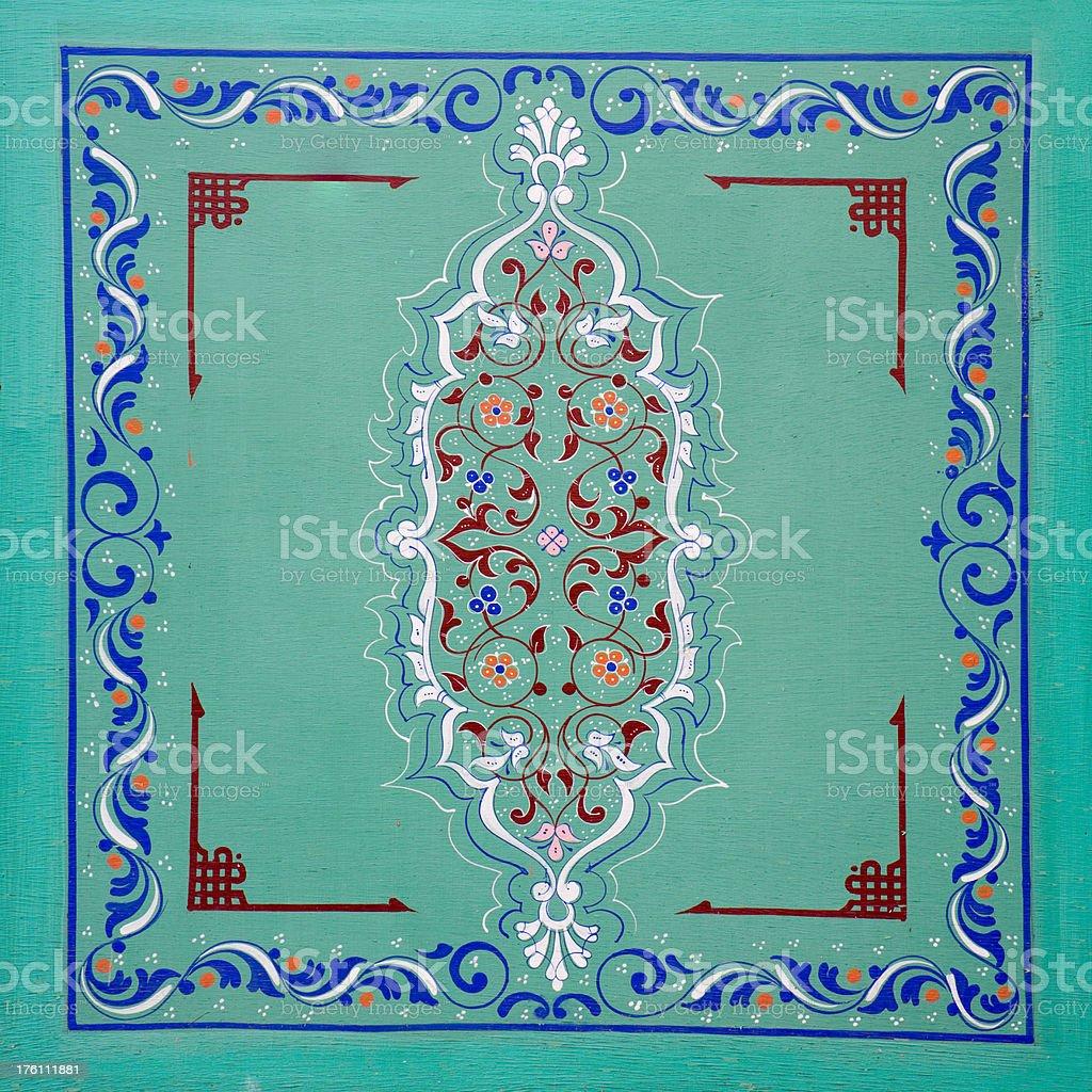 Marrakesh door royalty-free stock photo