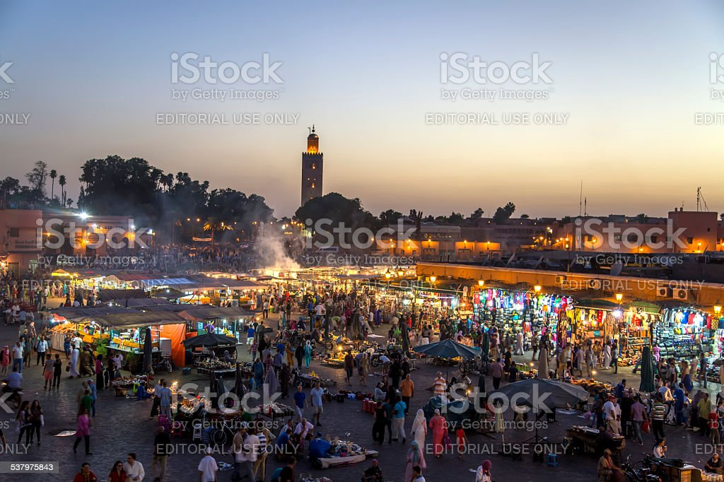 Marrakesh, Morocco stock photo