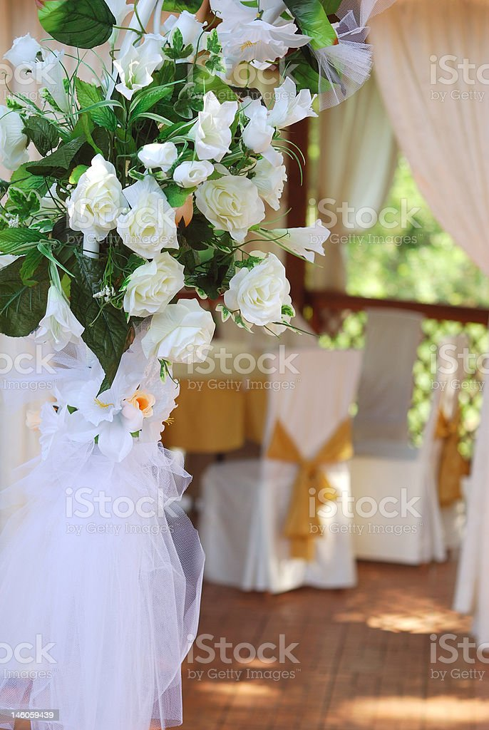 marriage decoration royalty-free stock photo