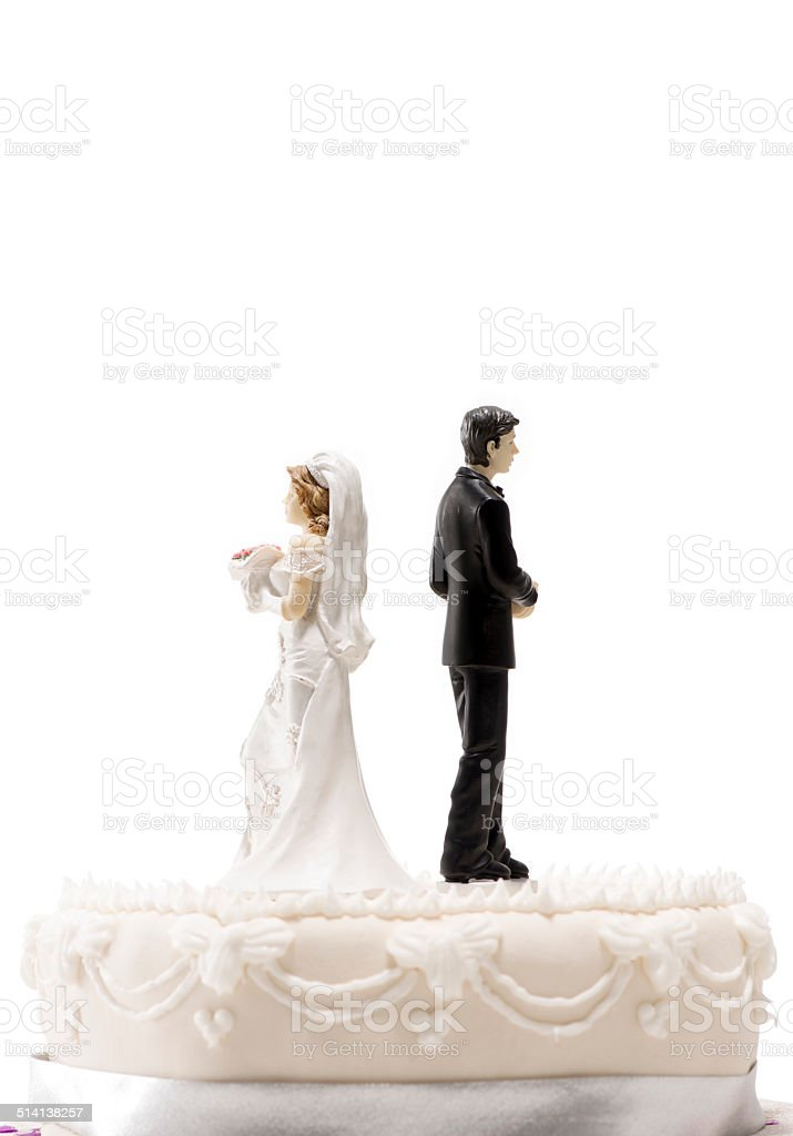 Marriage Difficulties stock photo