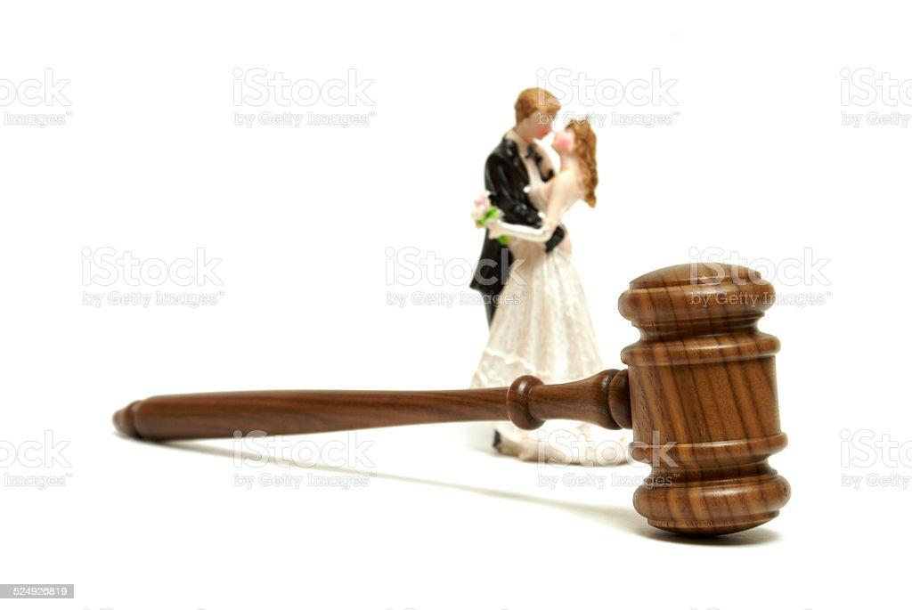 Marriage Legalities stock photo
