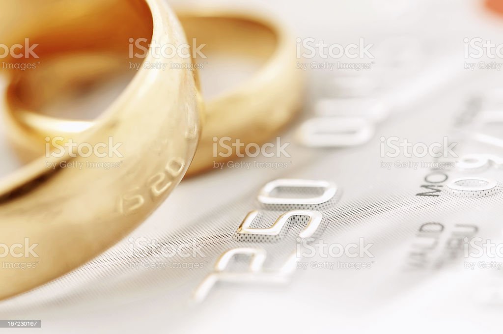Marriage of convenience royalty-free stock photo