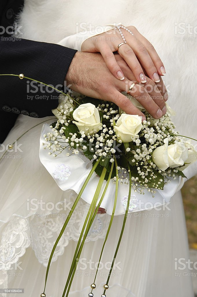 Marriage royalty-free stock photo