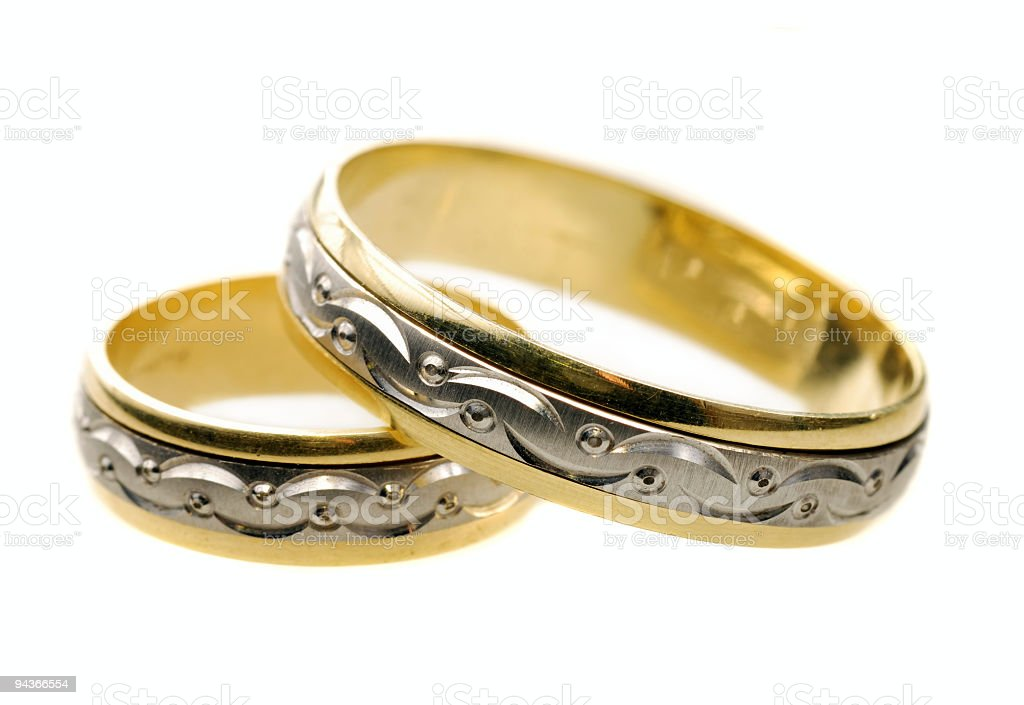Marriage Rings royalty-free stock photo