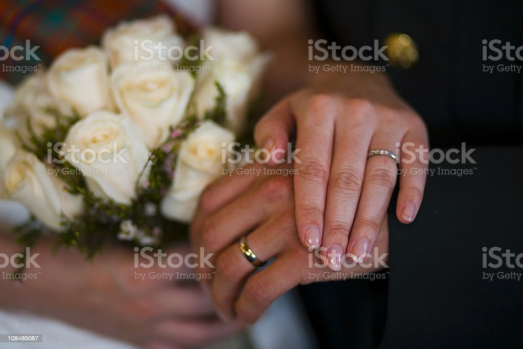 married royalty-free stock photo