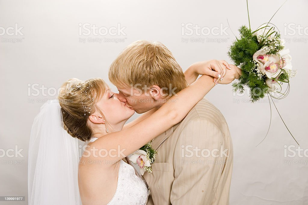 Married. royalty-free stock photo
