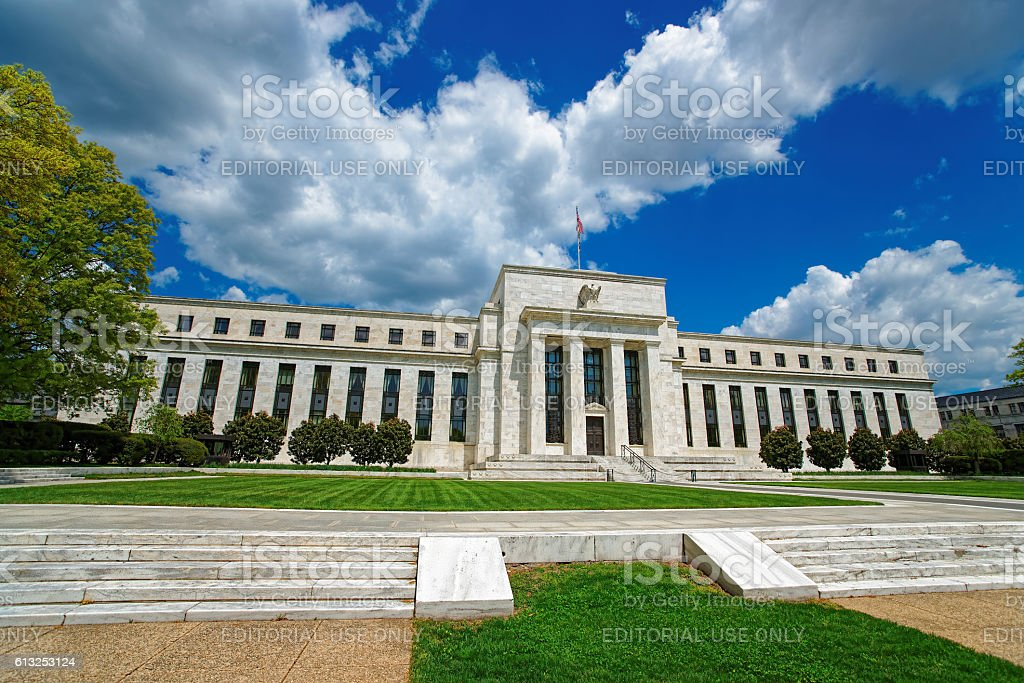 Marriner Eccles Federal Reserve Board Building stock photo