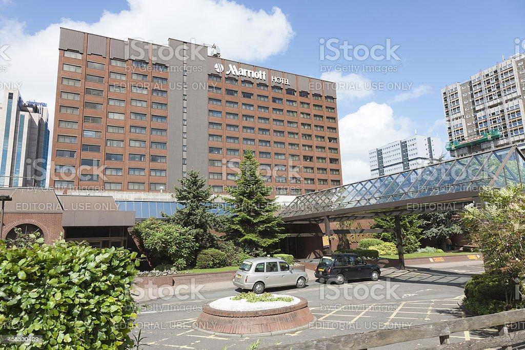Marriott Hotel, Glasgow stock photo
