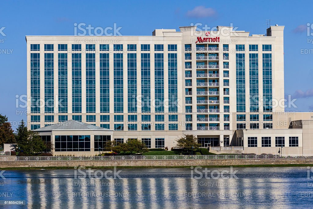 Marriott Indianapolis North Lakedside Hotel II stock photo