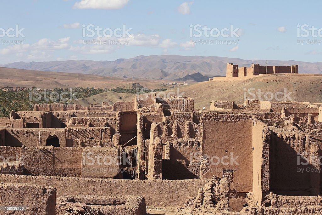 Marroquian Kasbah stock photo