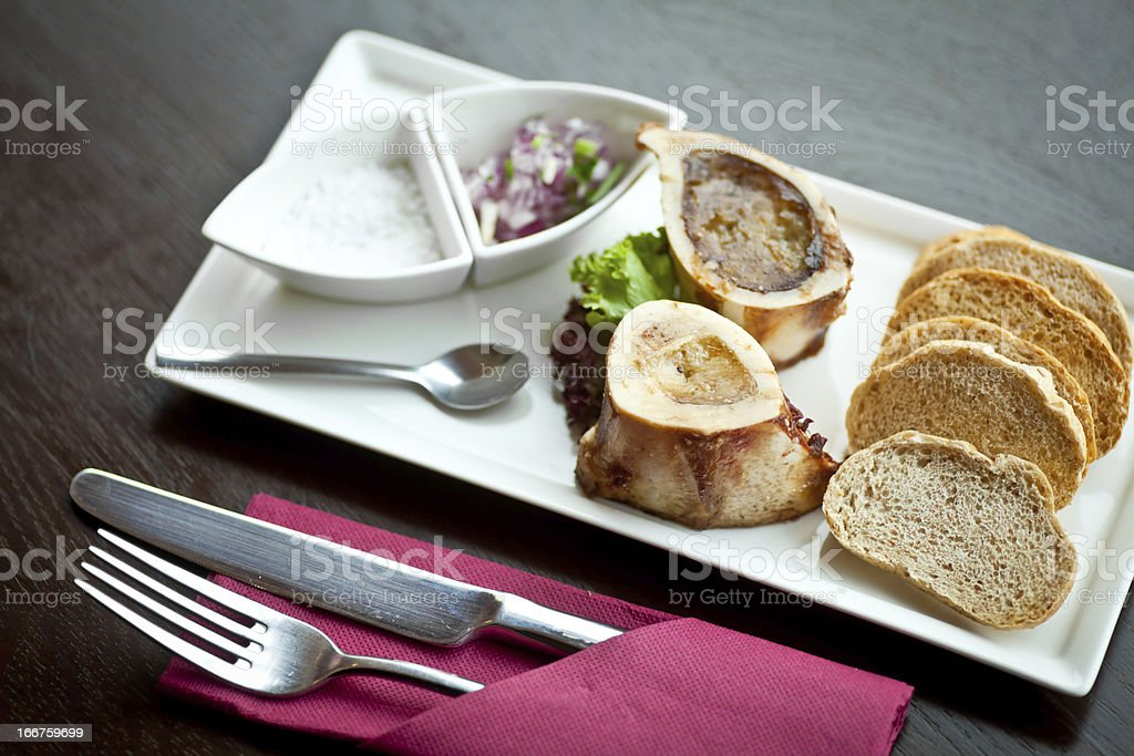Marrow bone royalty-free stock photo