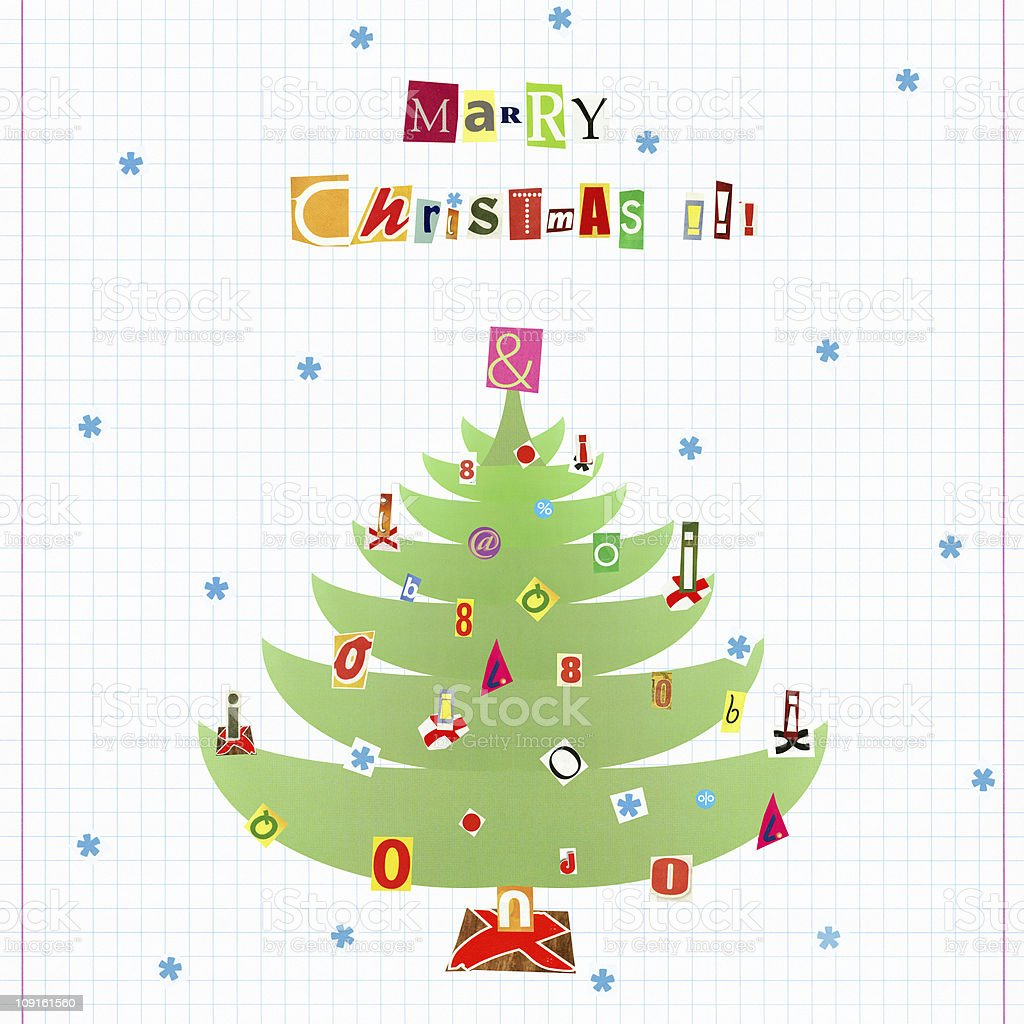 Marry Christmas! royalty-free stock photo