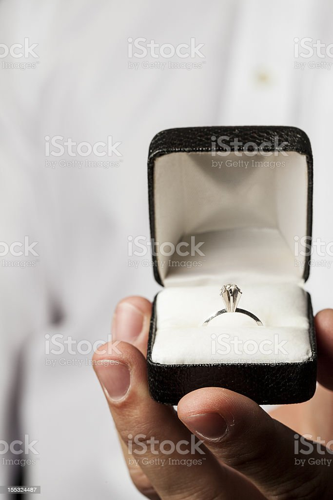 Marry me! royalty-free stock photo