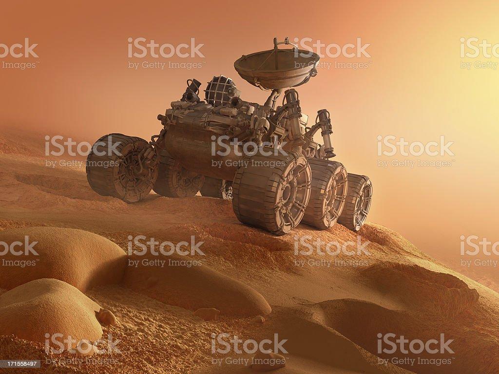 Mars Machine stock photo