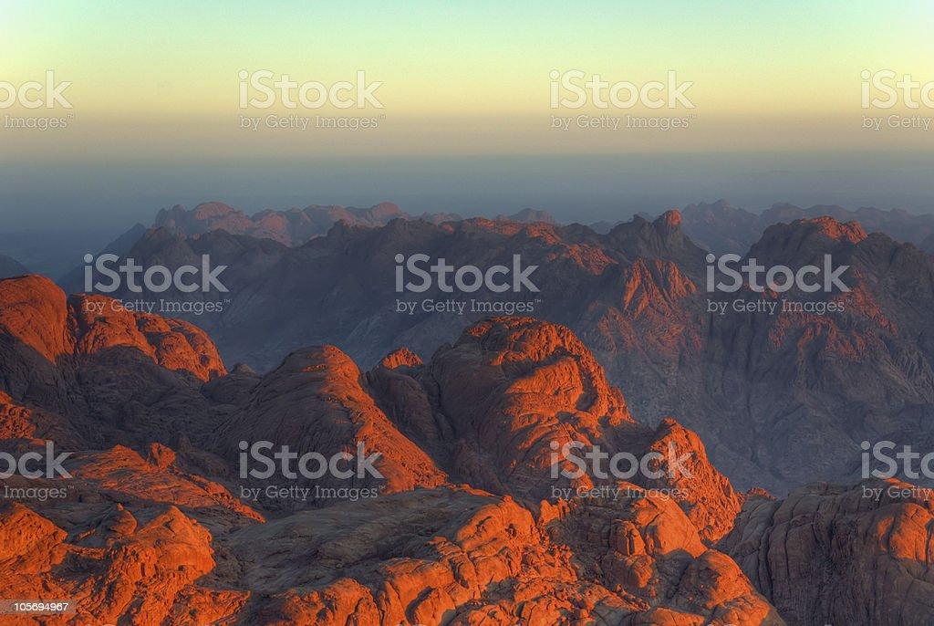 Mars or Earth? stock photo