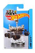 Mars Rover Curiosity Hot Wheels Diecast Toy Vehicle