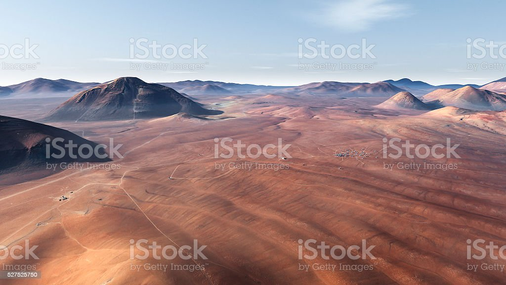 Mars surface. Elements of this image furnished by NASA stock photo