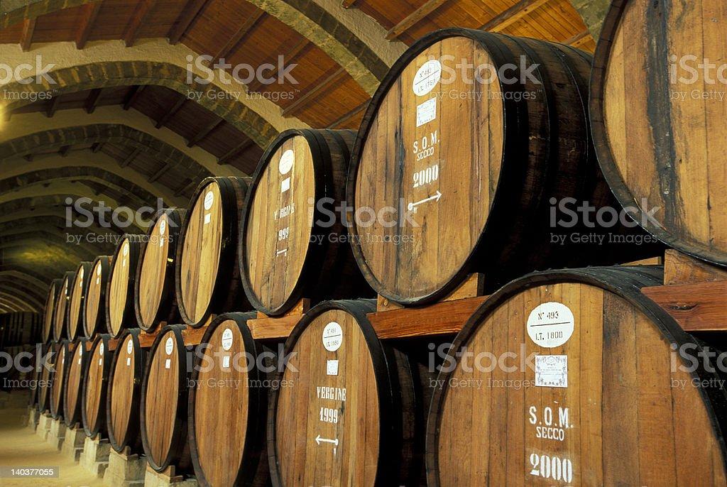Marsala cellar 2 royalty-free stock photo