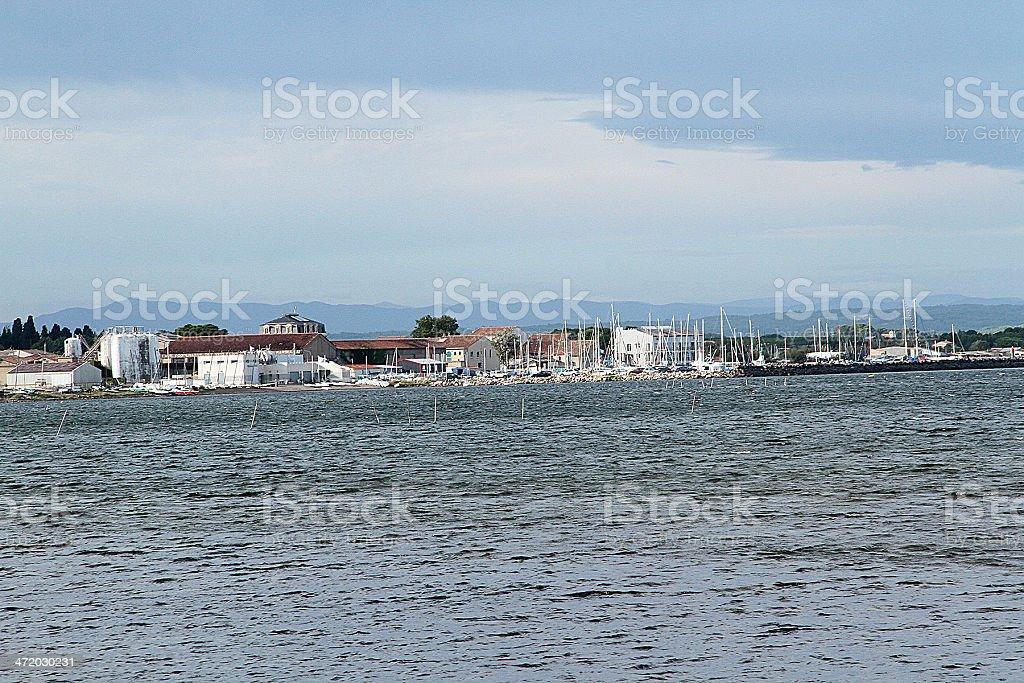 Marseillan Marina, Francia foto stock royalty-free