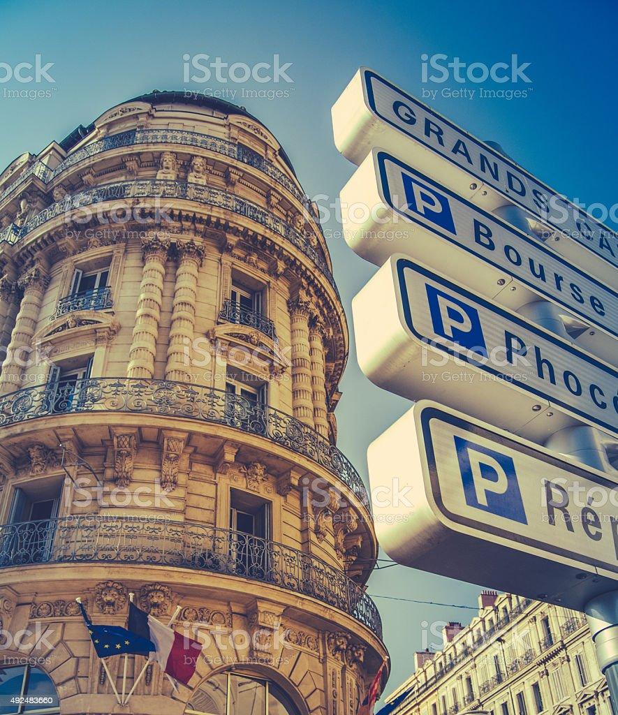 Marseille Architecture stock photo