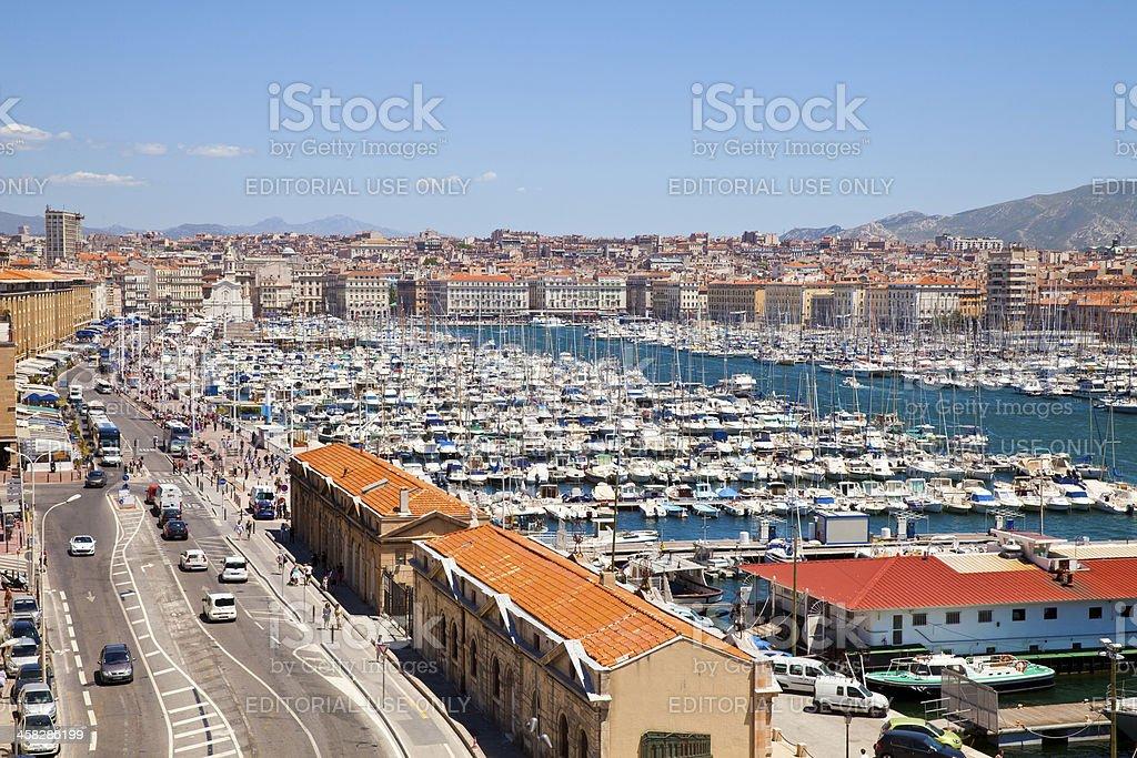 Marseille, France royalty-free stock photo