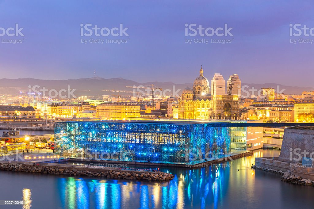 Marseille France stock photo