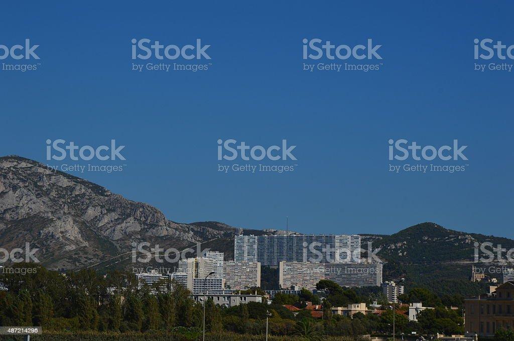 Marseille  Les Goudes stock photo