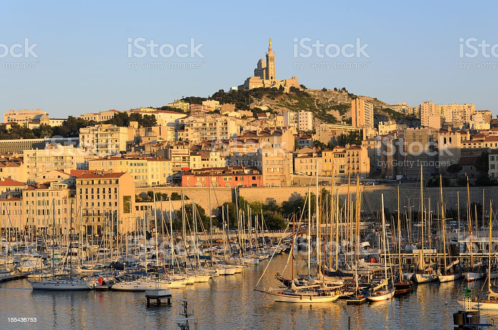 Marseille stock photo