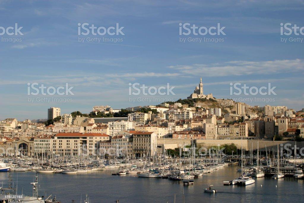 Marseille royalty-free stock photo