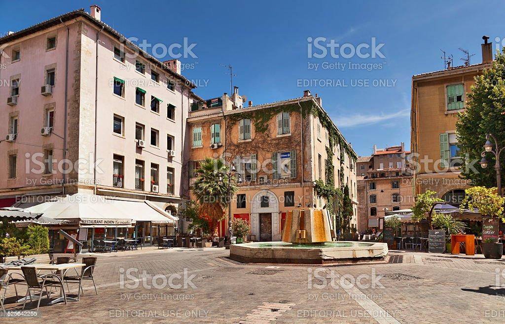 Marseille. stock photo