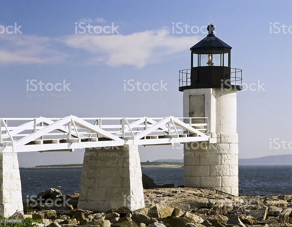 Marshal Point Lighthouse stock photo