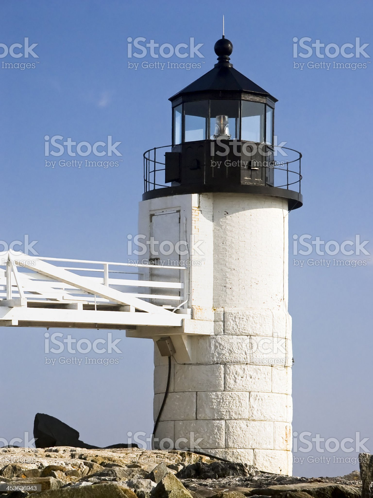 Marshal Point Lighthouse royalty-free stock photo