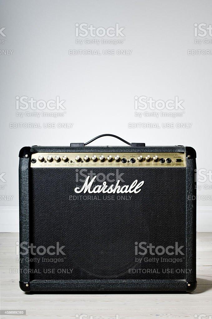 Marshall Amplifier stock photo