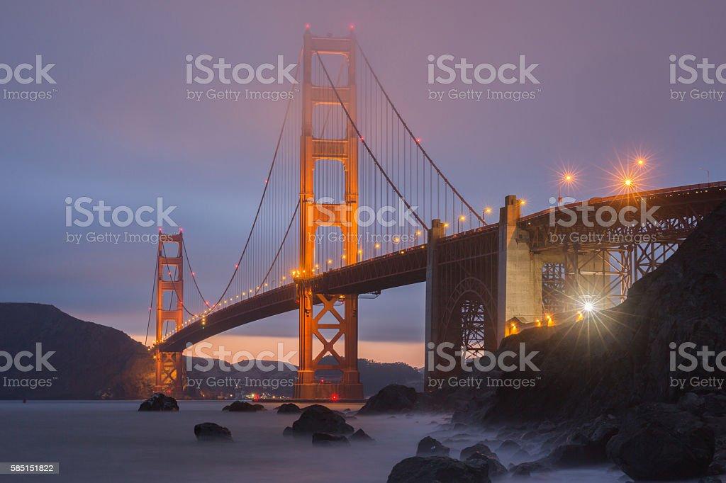 Marshall Beach Golden Gate National Recreation Area, San Francisco, California stock photo