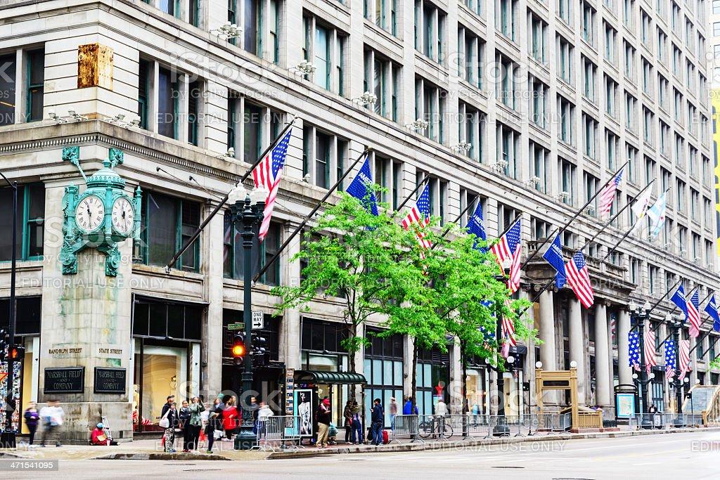 Marshall Field and Company Store, Chicago stock photo