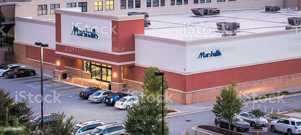 Marshalls Store stock photo