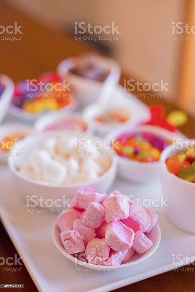 Marshmallow Candies royalty-free stock photo