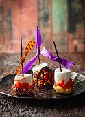 Marshmallow  for Halloween