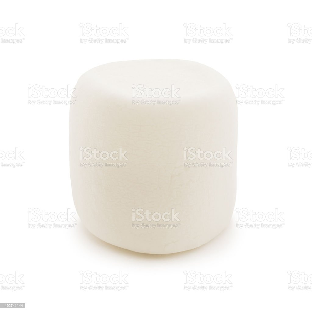 Marshmallow (with path) stock photo