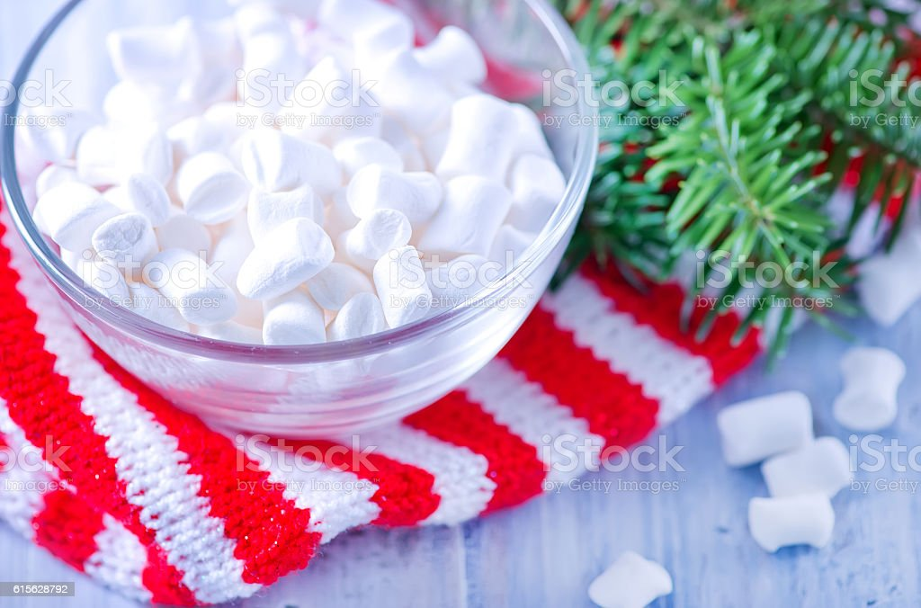 marshmallow stock photo
