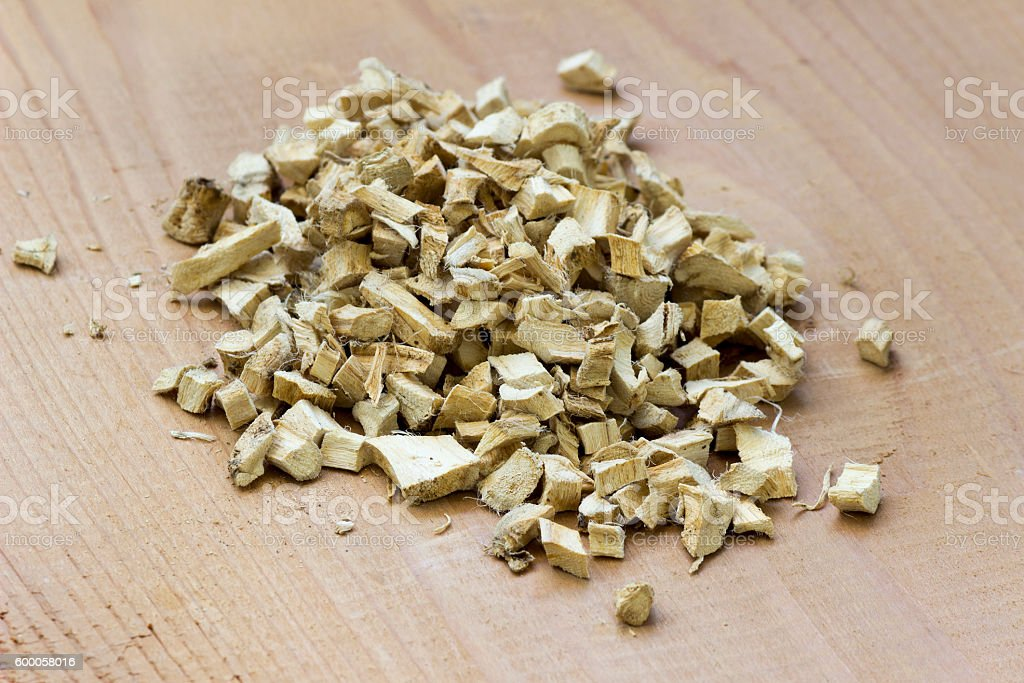 Marshmallow root stock photo
