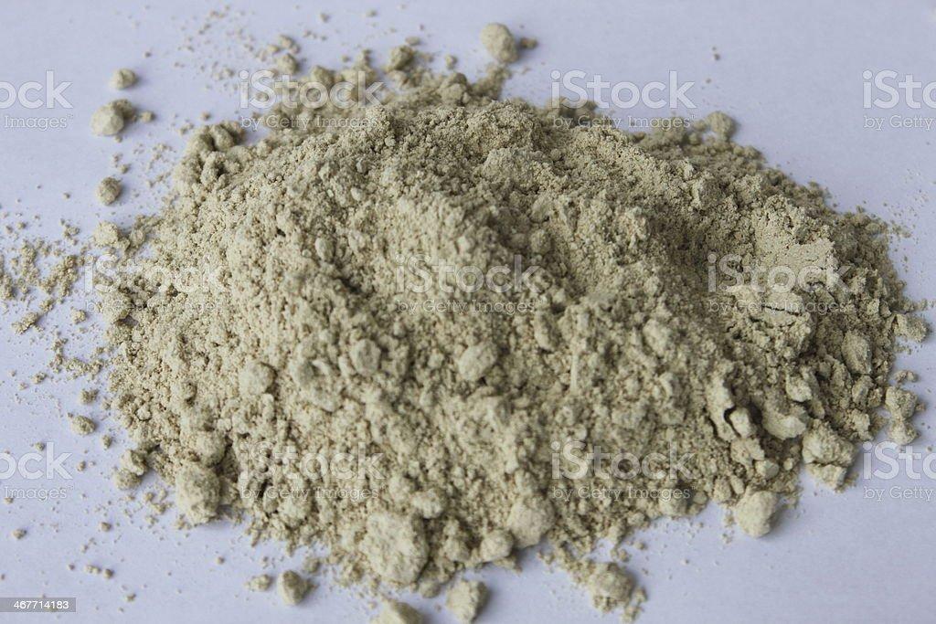 Marshmallow Root Powder stock photo